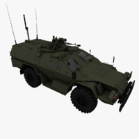 3d model of 2001 kamaz-43269 vystrel kamaz