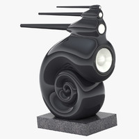bowers wilkins nautilus 3d model
