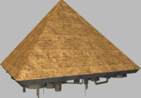 maya pyramid spaceship
