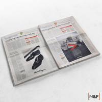 3ds max newspaper sole