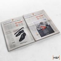 3ds max newspaper sole