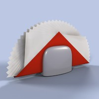 3d model napkins