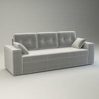 sofa natali basic 3d model
