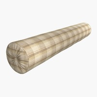 bolster cushion 3d model