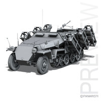 sd kfz 251 1 3ds