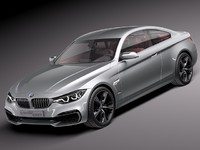 BMW 4 coupe 2014 F32 concept