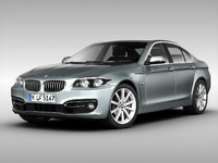 3d model of bmw car
