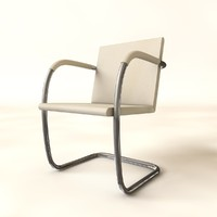 3ds brno tubular chair