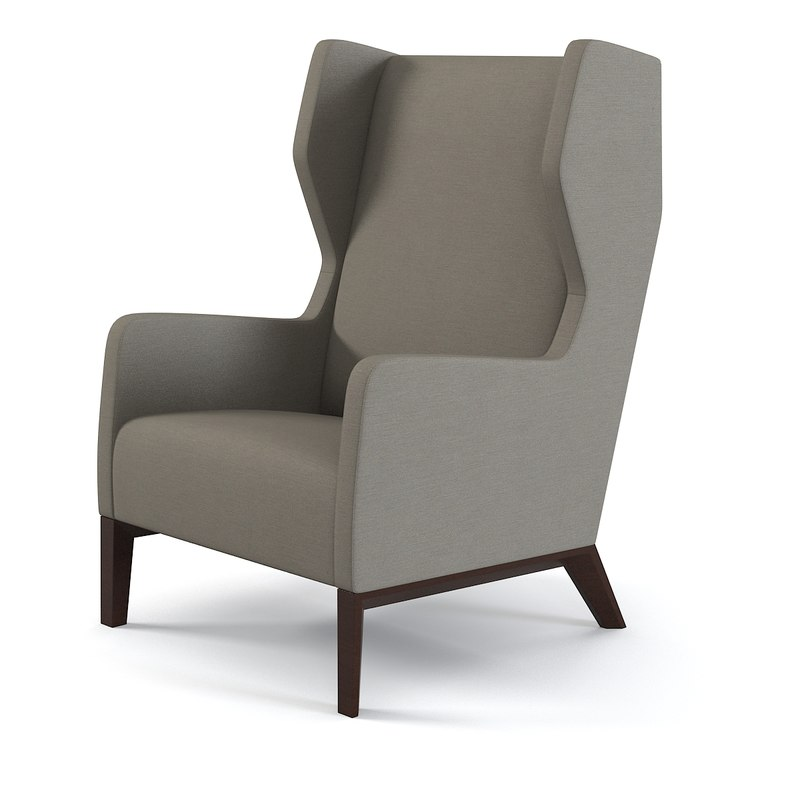 Holy Hunt Darder Wingback Chair modern contemporary wing relax high arm chair armchair0001.jpg