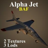 3d alpha jet baf model