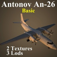 3ds max an-26 basic