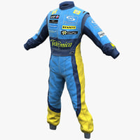Racing Driver Clothes 2 Renault