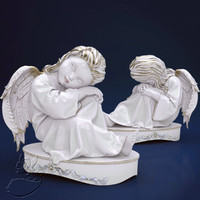 3d angel statuette model