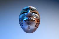 3d model venice mask carnival