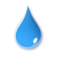 3d model water drop