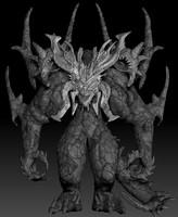 3d model diablo