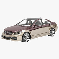 3d model art mercedes benz s class