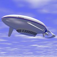 3dsmax cruise airship