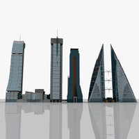 bahrain buildings 3ds