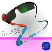 google glass 3d max