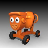 3d model dizzy bob builder