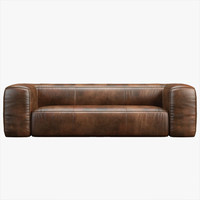 Fulham Leather Sofa