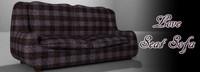 3d love seat sofa model