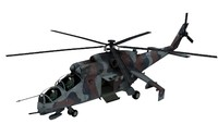 mil mi-24 hind 3d model