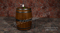 wine - mouton cat 3d mol