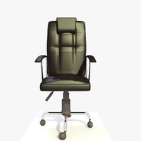 3d generic office chair