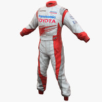 3ds max racing driver clothes toyota