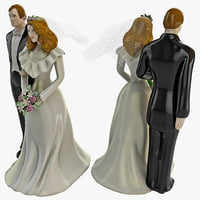 maya wedding cake topper