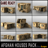Afghan Houses Pack