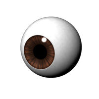 maya cartoony eye