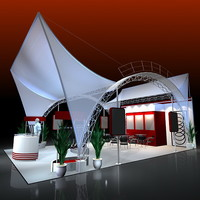 3d model presentation designed exhibitions