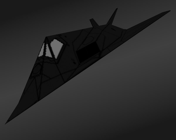 117 f night 3d 3ds - F 117 Nighthawk... by amap3