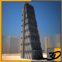 3d model leadenhall building skyscraper