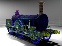 3ds max british great northern express