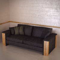 3d montana sofa frommholz model