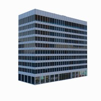 10 story office building 3ds