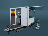 blender caravan trailer promo