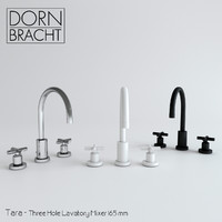 Dornbracht - Tara - Three Hole Lavatory Mixer 165mm