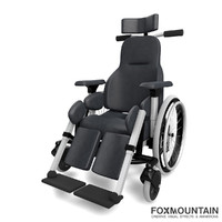 3d wheelchair deluxe model