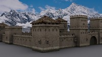 old fortress 3d model