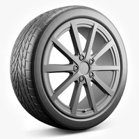 car wheel x