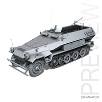 3ds max sd kfz 251 1