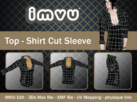 shirt imvu file 3d model
