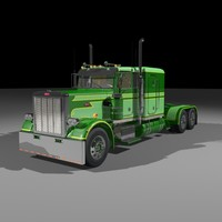 359 custom truck 3d 3ds