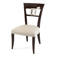 baker dining chair 3d max