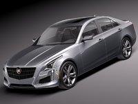 3d model 2013 2014 sedan luxury